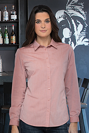 Modern Chambray Womens Dress Shirt