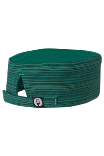 Harlem Cool Vent™  Beanie: Green - side view