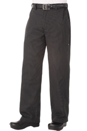 Professional Series Pant: Gray Stripe