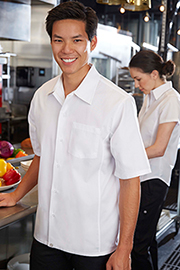 Cool Vent™ Cook Shirt: White